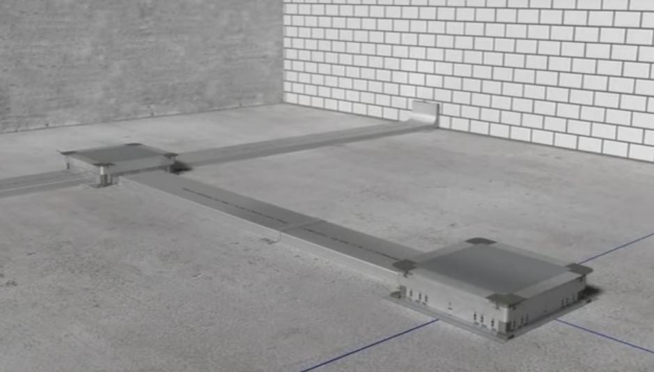 Монтаж системы прокладки кабеля на этапе строительных работ